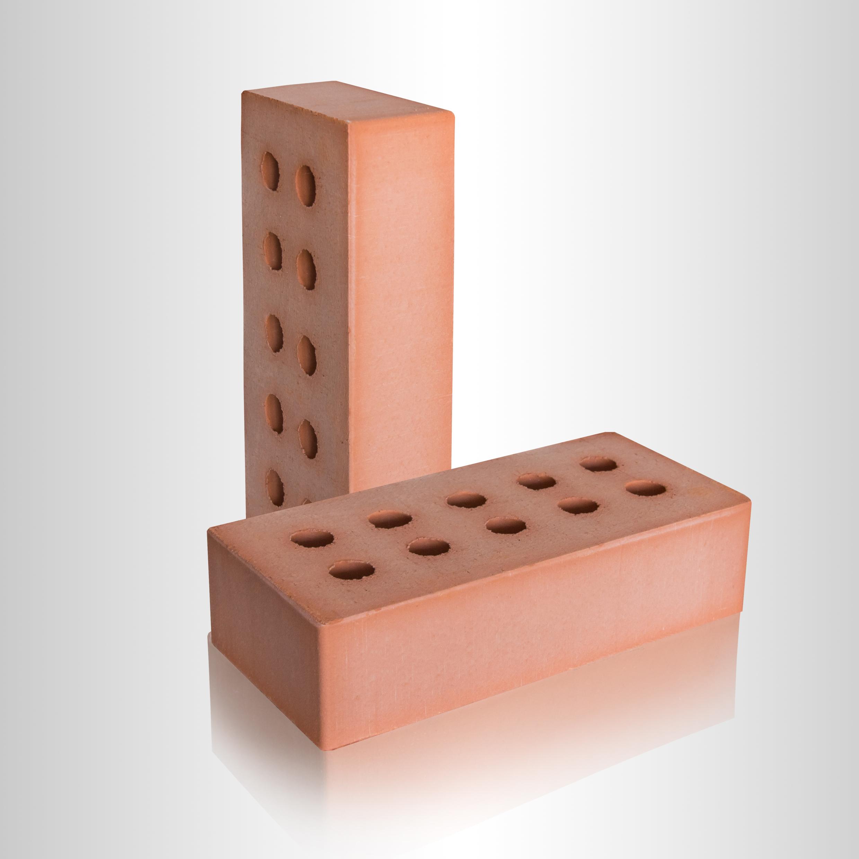 Кирпич керамический рядовой полнотелый 1НФ Красный